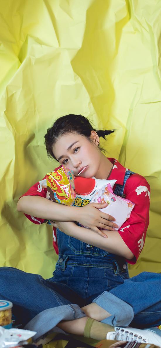 演员 艺人 女星 零食 马思纯