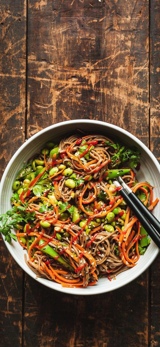 意面 拌面 蔬菜 健康