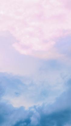 云层 云彩 渐变 天空