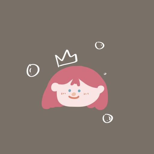 插画 小公主 绘画 可爱