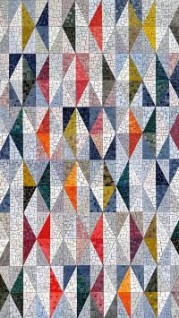 菱格 色彩 分布 规律 马赛克 瓷砖