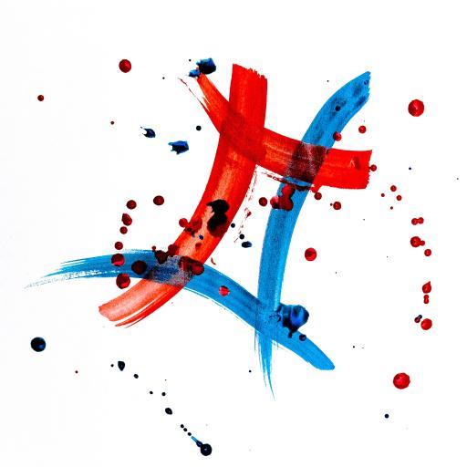 水彩 彩绘 水彩 绘画 抽象