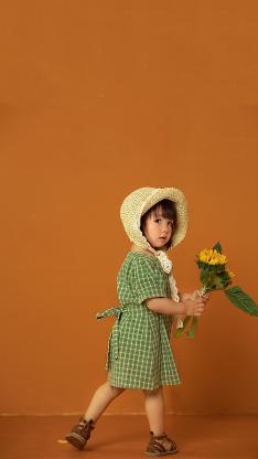 儿童 模特 小女孩 写真