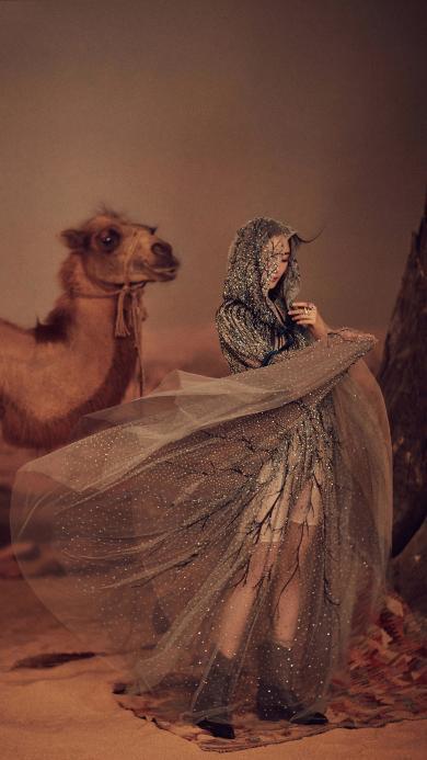 艺人 演员 造型 杨幂 骆驼