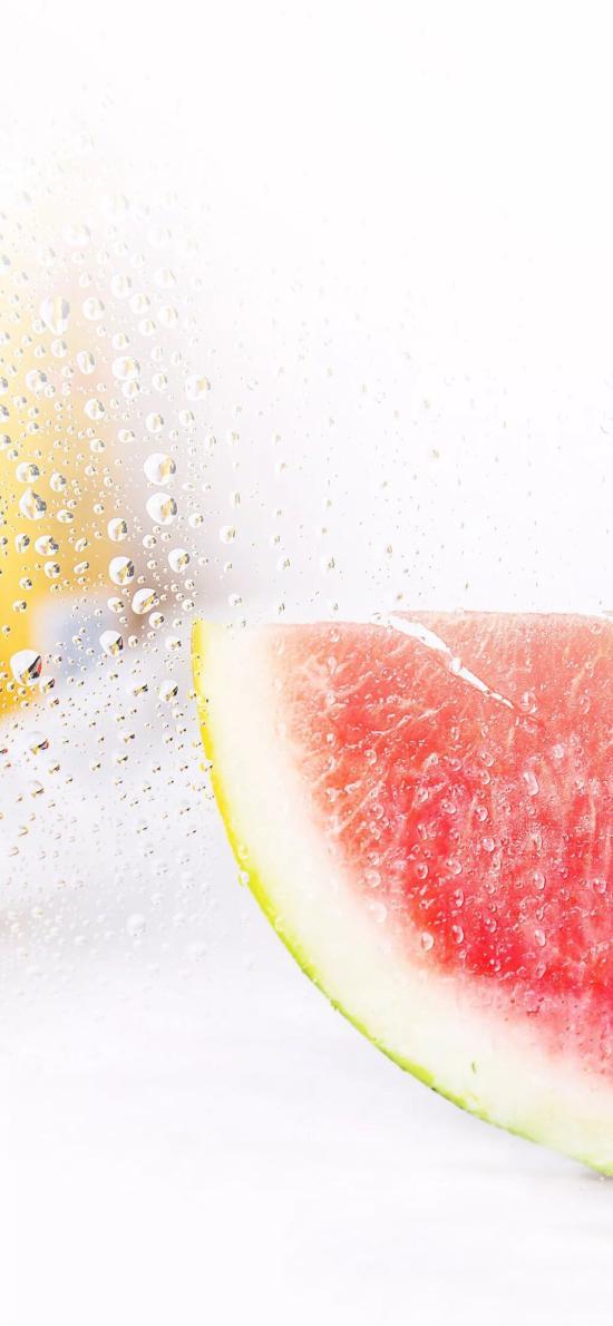 水果 西瓜  解渴 气泡