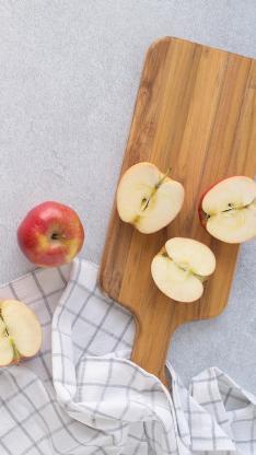 水果 案板 苹果 清新