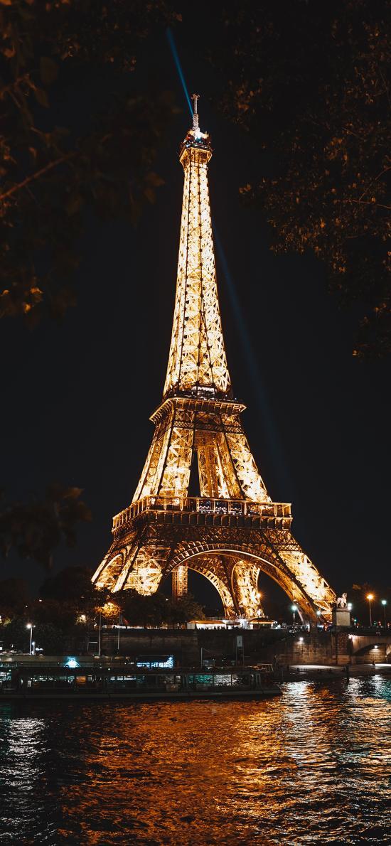 法国 巴黎铁塔 景点 标志性建筑