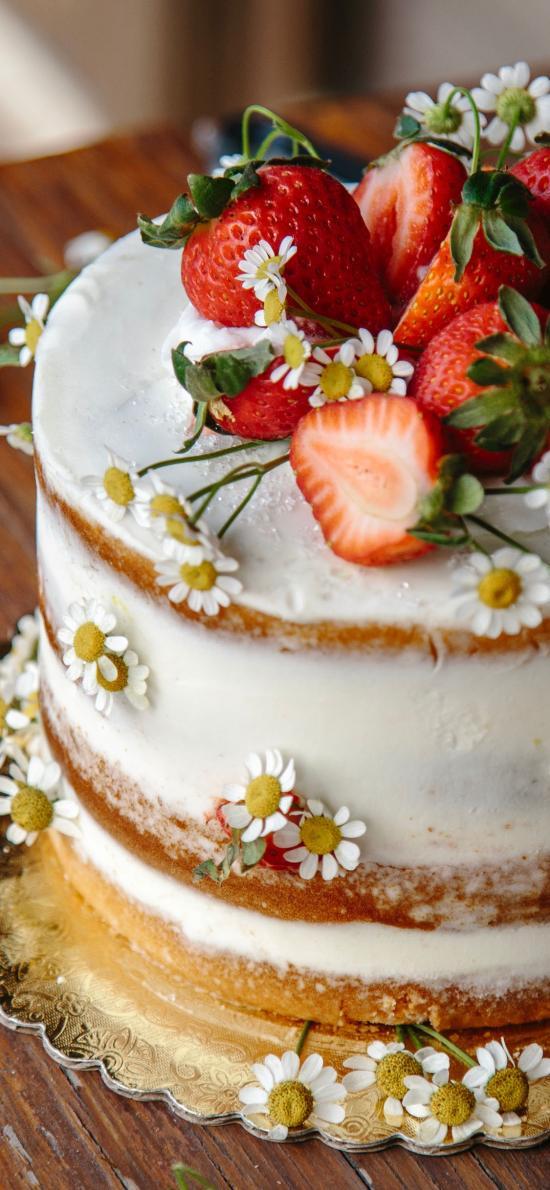 烘焙 甜品 蛋糕 草莓