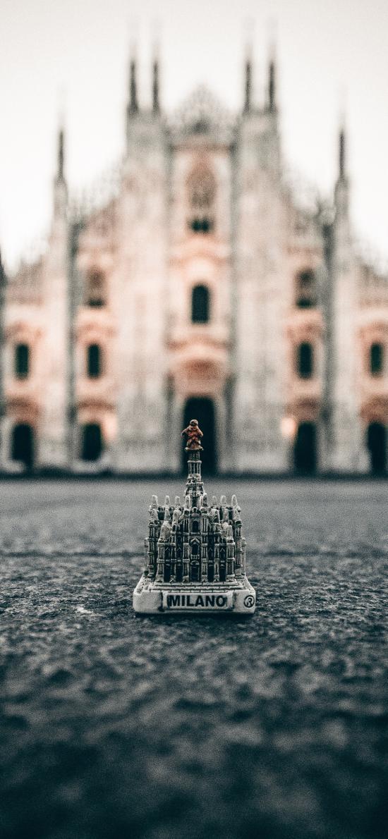 欧式 建筑 模型 迷你