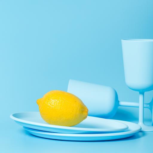 柠檬 水果 蓝 柠檬