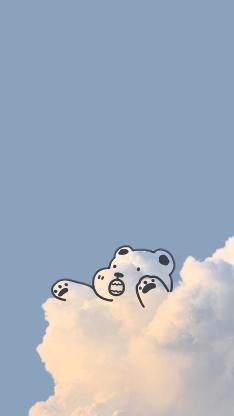 趣味 小熊 云彩 云朵