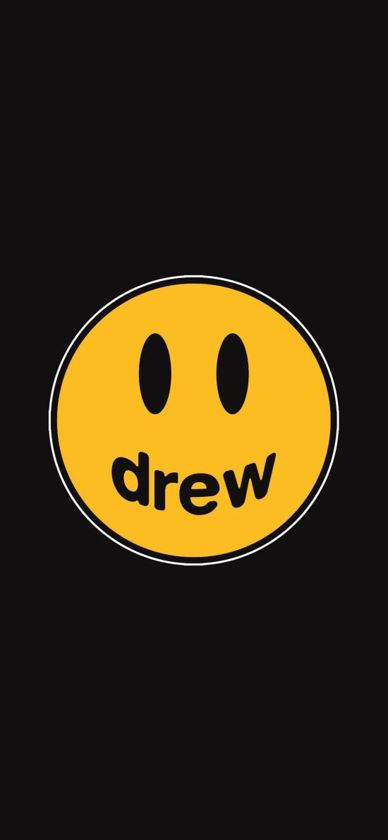 品牌 Drew House 笑脸 黄色(取自微博:G195)