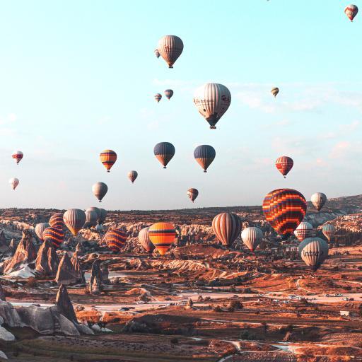 热气球 土耳其 景点 旅游