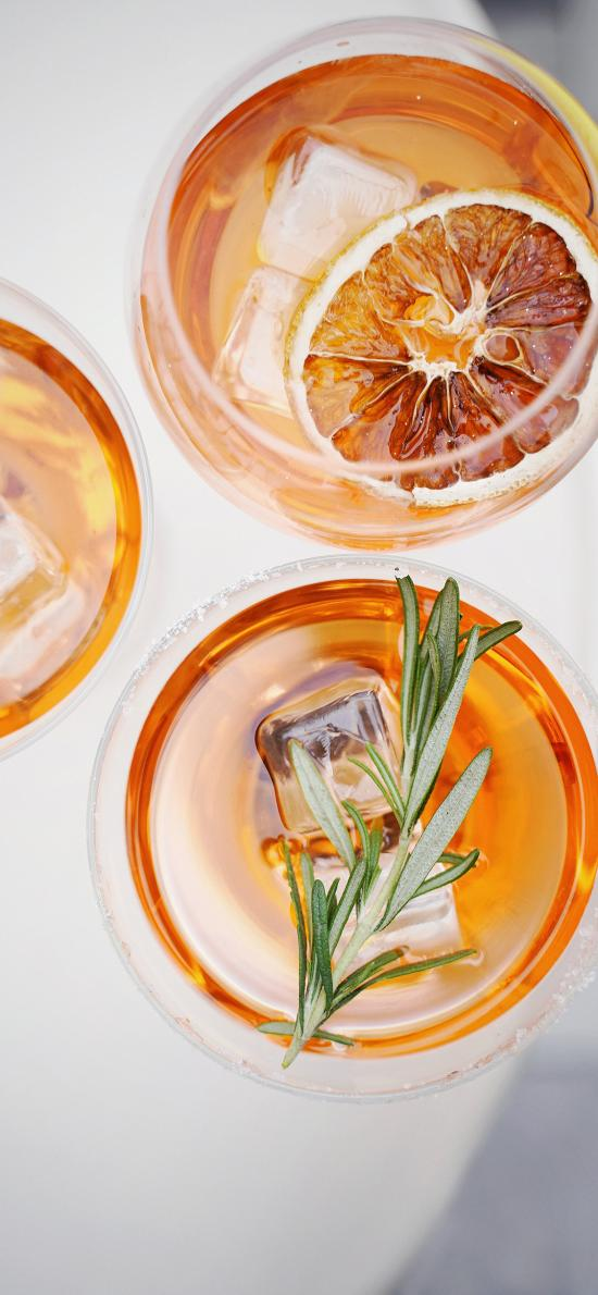 饮品 茴香 柠檬 冰块 酒水