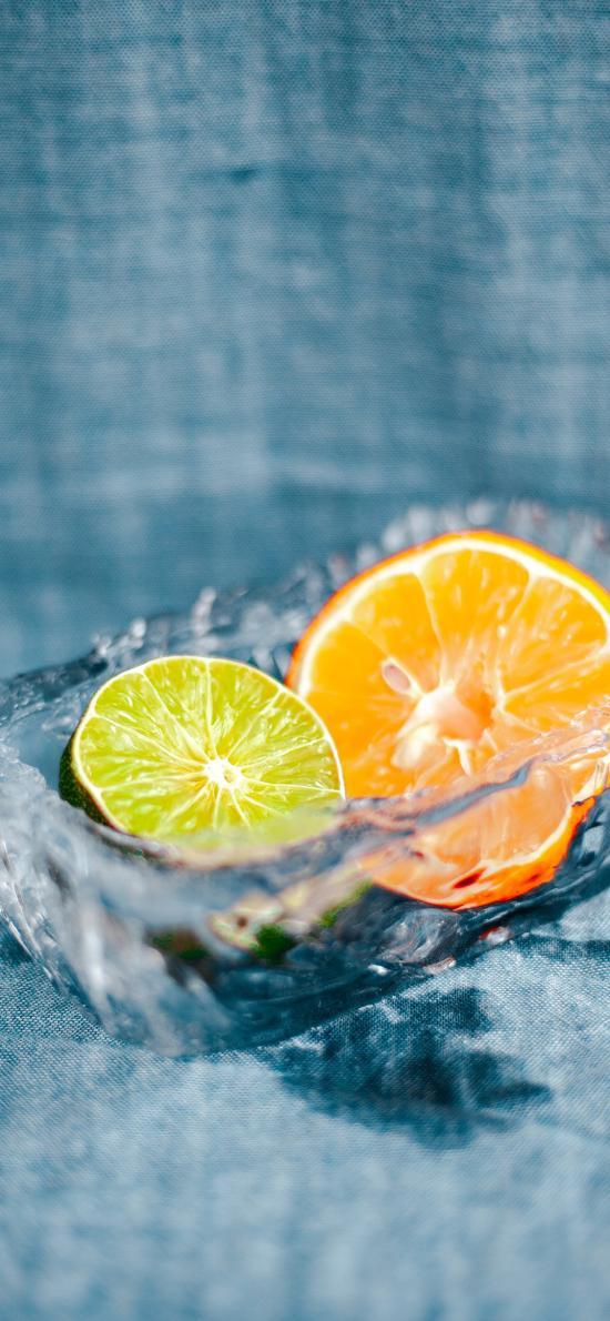柑橘 青柠 橙 柠檬