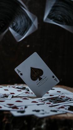 纸牌 扑克牌 黑桃A