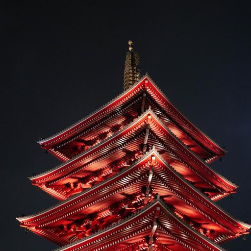 浅草寺 寺庙 日本 地标