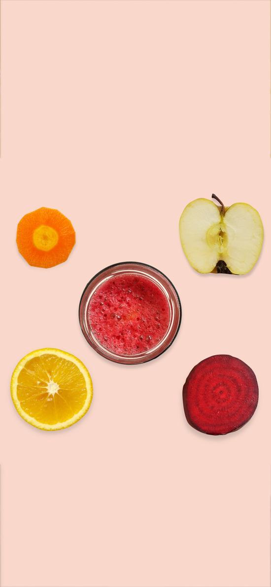 饮品 鲜榨 果汁 苹果