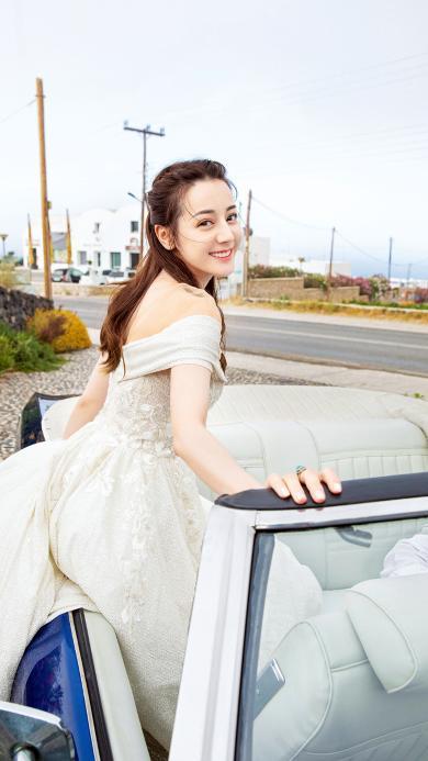 迪丽热巴 演员 艺人 汽车