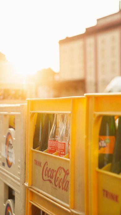 静物 回收 玻璃瓶 可乐瓶