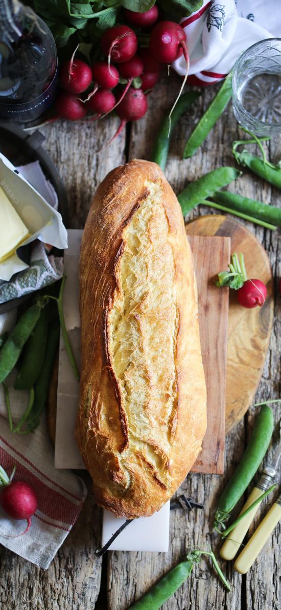 烘焙 面包 法式 豆角