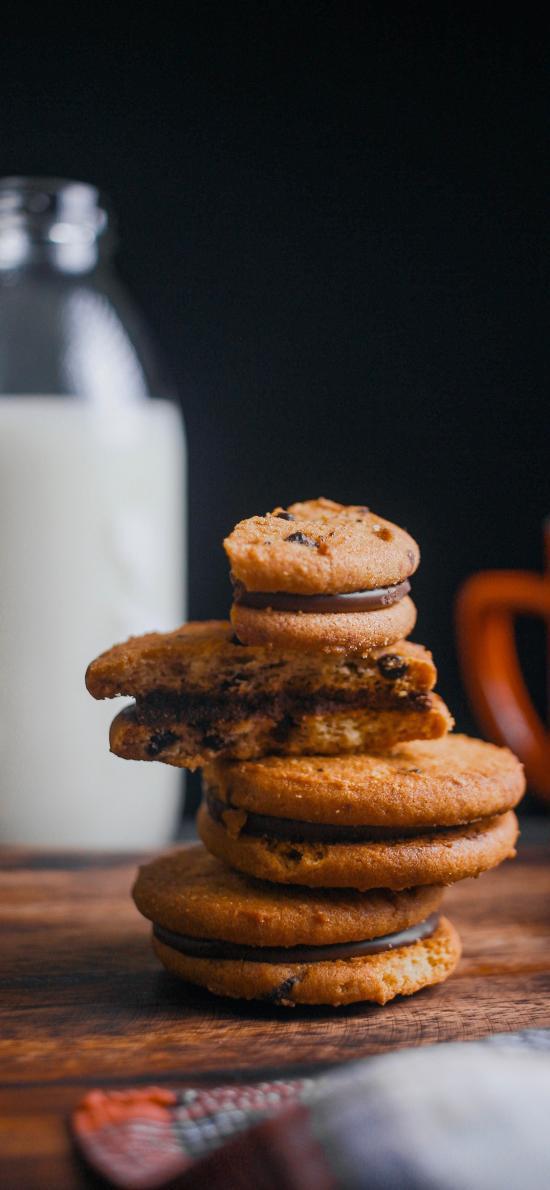 烘焙 饼干 曲奇饼 牛奶