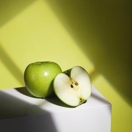 苹果 青苹果 水果 光影