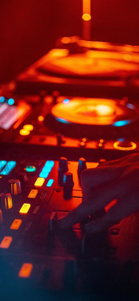 调音台 DJ 打碟 音乐