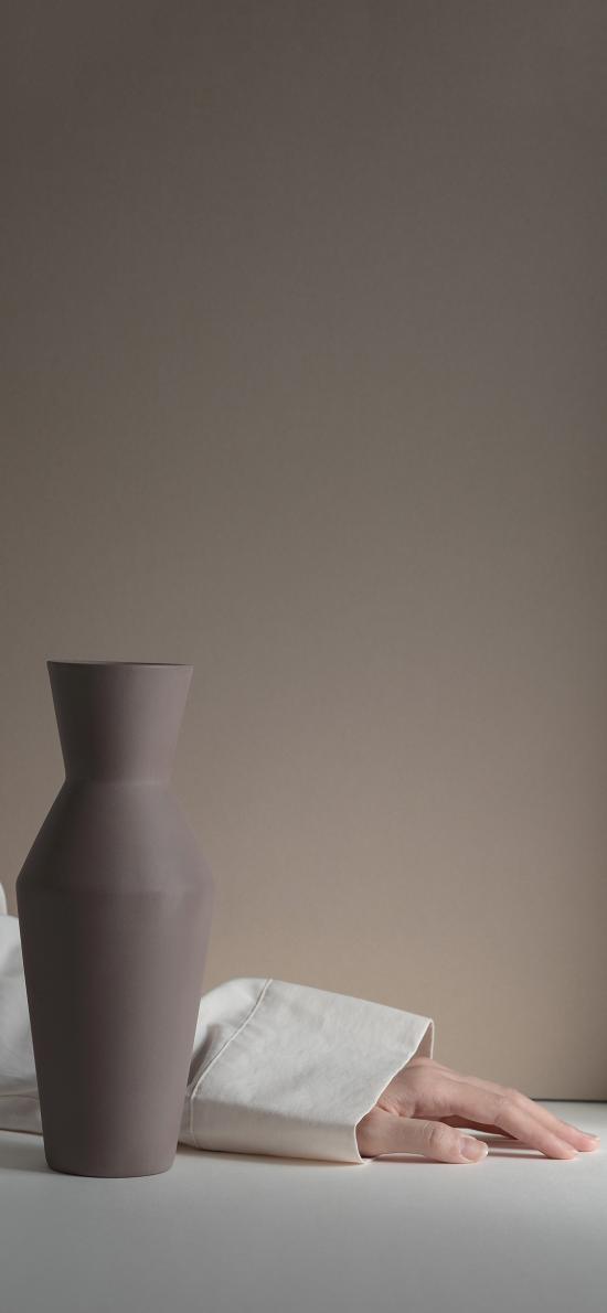 花瓶 工艺 瓷器 手臂