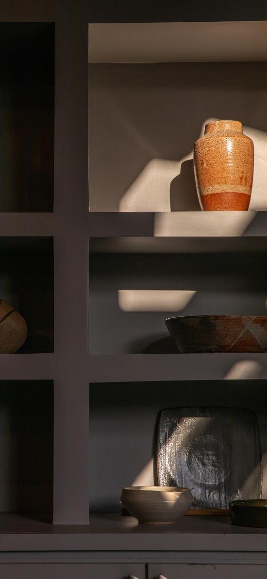 家居 柜子 静物 瓷器