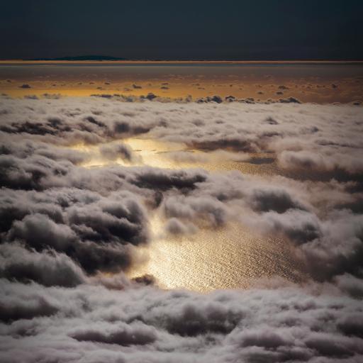 云层 云海 翻涌 自然