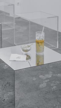 静物 奶茶 玻璃杯 空间