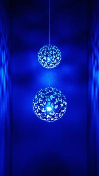 吊饰 蔚蓝 球体 镂空