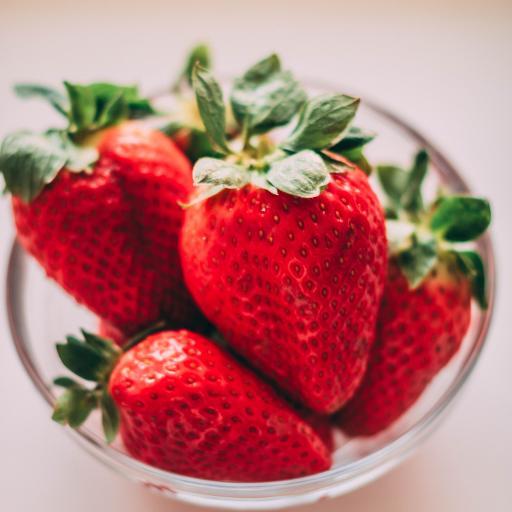 草莓 水果 新鲜 鲜红