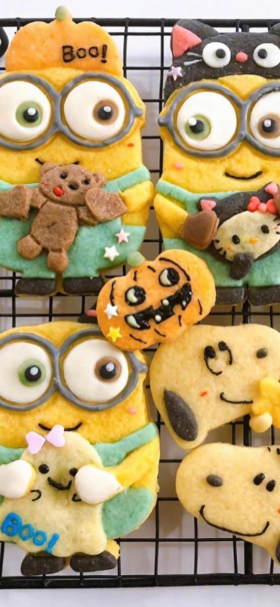 烘焙 饼干 小黄人 史努比