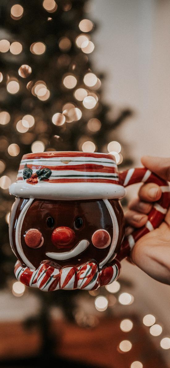 静物 杯子 陶瓷 圣诞 可爱