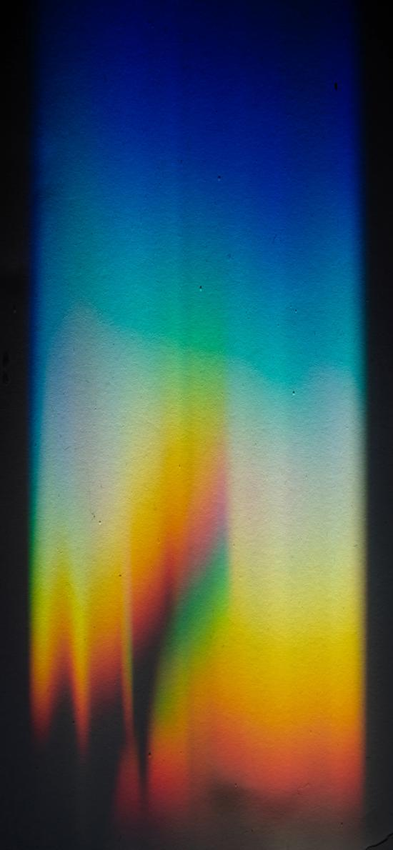 彩虹光 色彩 渐变 苹果