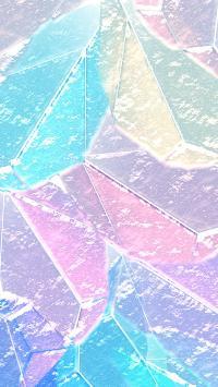 色块 暖色 渐变 几何