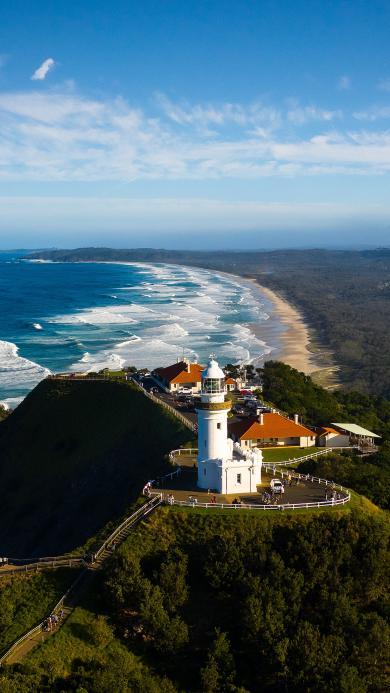 海边 海岸 灯塔 建筑
