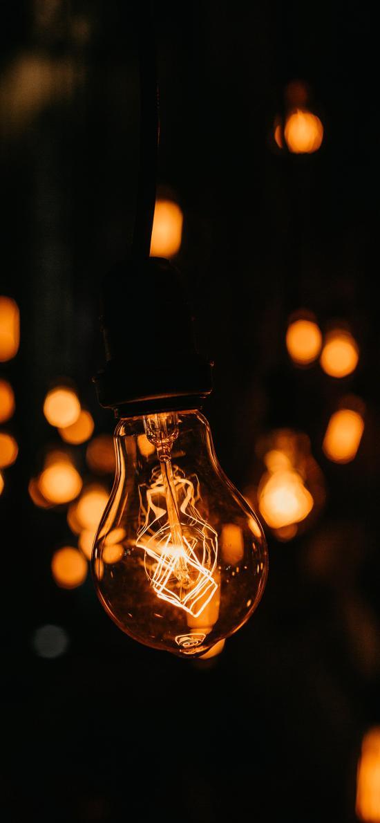 灯泡 照明 光亮 钨丝
