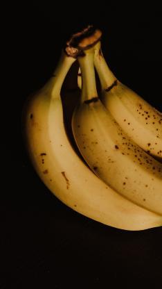 水果 香蕉 成熟 斑点