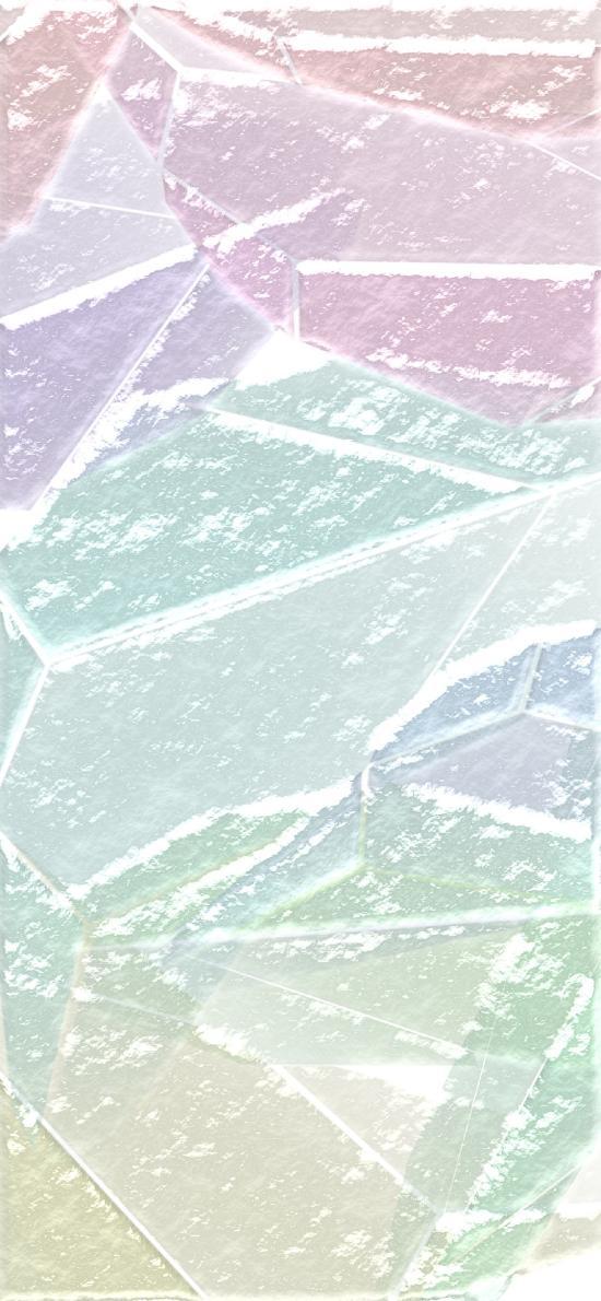 色块 渐变 几何 淡色