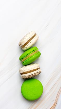 马卡龙 点心 甜食 色彩