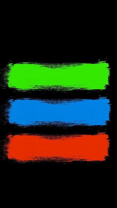 色彩 红 绿 蓝 横杆
