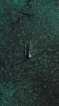 大海 海水 船只 广阔