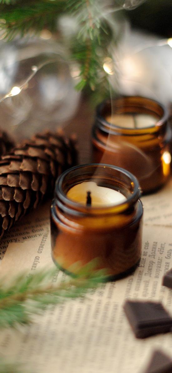 蜡烛 烛火 静物 香薰