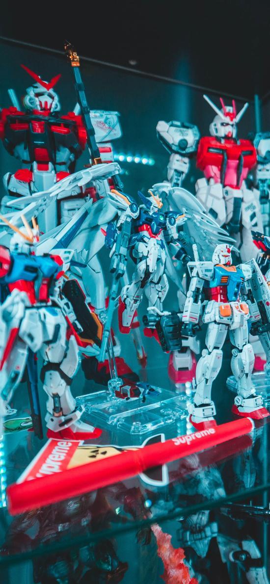 玩具 摆件 高达 机器人
