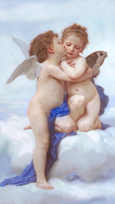 艺术 天使 翅膀 插画