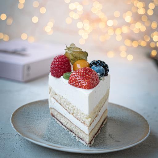 蛋糕 奶油 草莓 水果