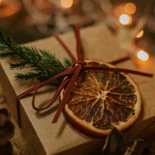 礼盒 柠檬干 包装 装饰